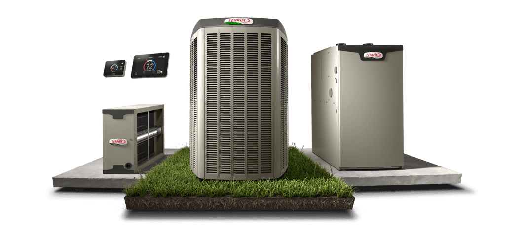 Lennox  heating products and thermostats