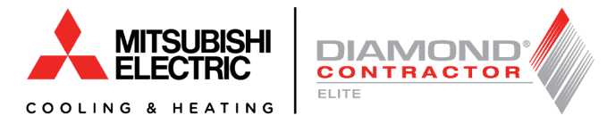 Mitsubishi Electric Cooling & Heating Diamond Contractor Elite logo